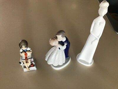 bing&grondahl,pauline shore,royal worcester.Saturday's child,first kiss,Victoria