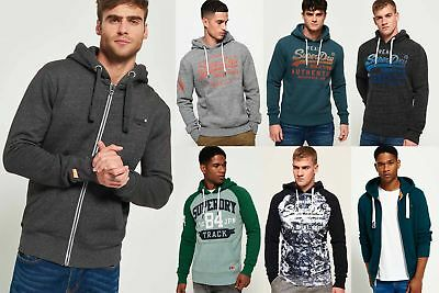 New Mens Superdry Hoodies Selection - Various Styles & Colours 240119