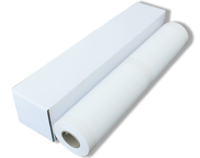 "290gsm 24"" x 100' Matte Polyester Canvas Roll for HP Canon Epson Inkjet Printers"