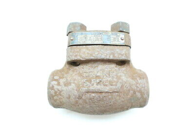 Crane 3682X Steel Socket Weld Check Valve 1in 600