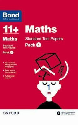 Bond 11+: Maths: Standard Test Papers Pack 1 by Andrew Baines 9780192740755