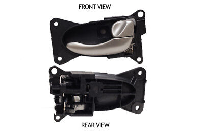 For 02-06 NISSAN ALTIMA DN10002 Front Right Outside Door Handle Smooth Black