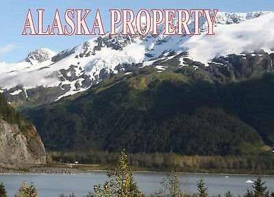 Alaska Land Fairbanks Cash! No Reserve Remote 4.9  Acres On Geskakmina Lake Rare
