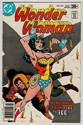 Wonder Woman #245 July 1978 VF 8.0 DC Comics