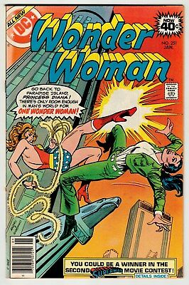 Wonder Woman #251 January 1979 VF- 7.5 DC Comics