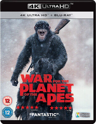 War for the Planet of the Apes Blu-ray (2017) Andy Serkis, Reeves (DIR) cert 12