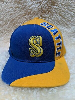 485497ab46716 ... coupon for seattle mariners mlb american needle cooperstown old school vintage  snapback hat ffb48 2bb69