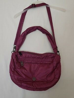 Kipling Laka III Teady Satchel Crossbody Shoulder Bag- Purple Wine HB2916 ( U2) bc6284c701