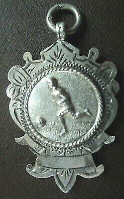 Silver Medal / Watch Fob - Football - 1922