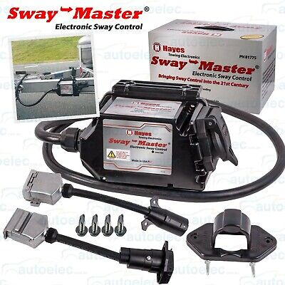 Hayes Sway Master Electronic Anti Sway Tow Trailer Caravan Control System 12 Pin
