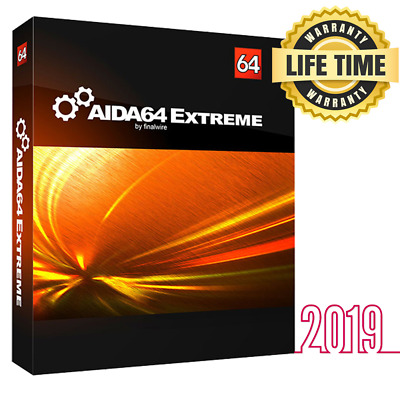 AIDA64 Extreme - ORIGINAL FULL VERSION License - 32/64 bits - Email Delivery