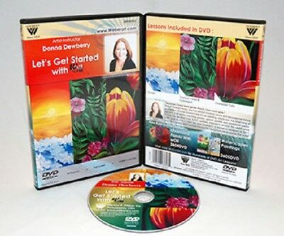Donna Dewberry Instructional DVD | Paint Oversized Florals w/ Water-Mixable Oil