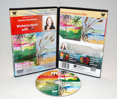 Donna Dewberry DVD | Learn to Paint Waterscapes with Water-Mixable Oils