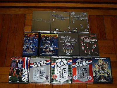 Transformers/G.I. Joe Generation 1: The Complete Collections DVD