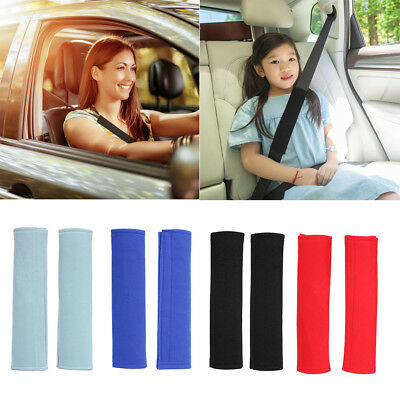 2pcs Car Seat Belt Pads Harness Safety Shoulder Protection Strap Cushion Cover