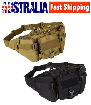 Tactical Military Waist Fanny Pack Hip Pouch Bum Bag for Outdoor Camping Hiking