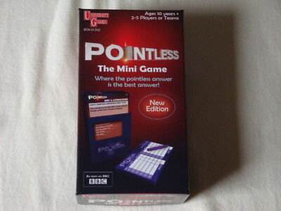 Pointless - The Mini Game *New Edition Travel Game* University Games