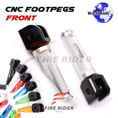 For Ducati 748 /S/R All Year Silver Anti-slip Front Footpegs Pegs
