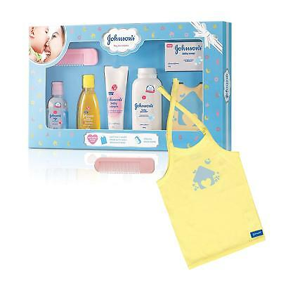 Johnson's Baby Care Baby Gift Set with Organic Cotton Baby T-Shirt(7 Pieces)