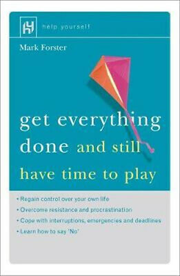 NEW Get Everything Done By Mark Forster Paperback Free Shipping