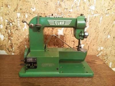 The first sewing machine ELNA 1 Series One The Grasshopper 1940 rare vintage