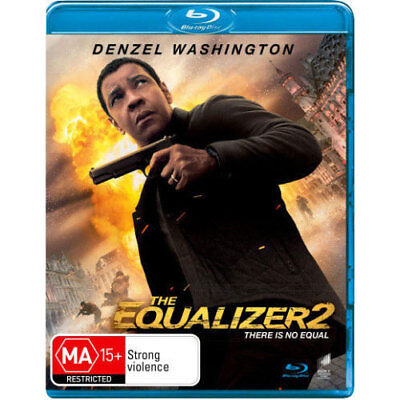 The Equalizer 2 BLU-RAY NEW