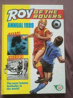 Roy of the Rovers Annual 1989  *** UNCLIPPED *** MINT