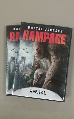 Rampage (DVD, 2018) Dwayne (The Rock) Johnson