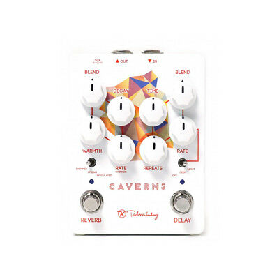 Keeley Electronics Caverns Delay Reverb v2 Delay Reverb Effects Pedal, New!