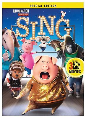 Sing DVD 2017 Special Edition New & Sealed. Free Delivery