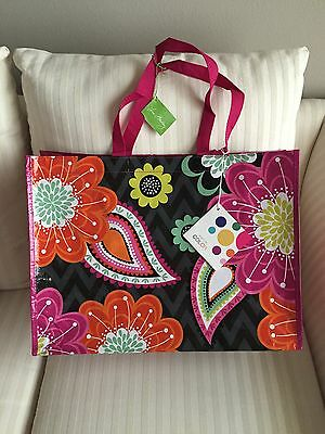 Vera Bradley Market Tote Ziggy Zinnia NWT Eco Bag Recycled Reuse Great Gift 2f80972c6da19