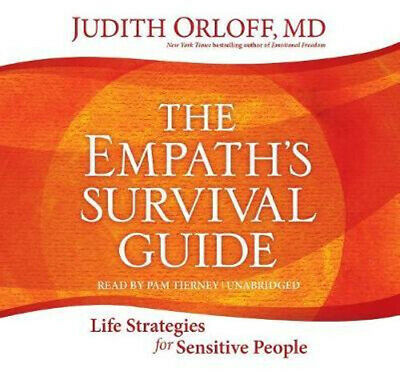 NEW Empath's Survival Guide,The By Judith Orloff Audio CD Free Shipping