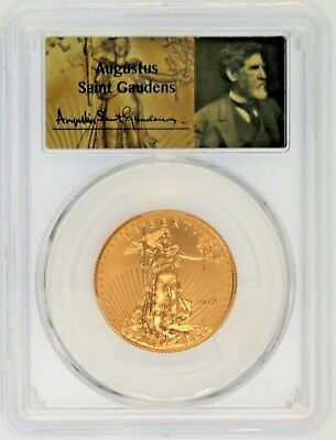 2018 $25 Gold Eagle MS70 PCGS 1 of 377 of 527 Augustus Saint Gaudens
