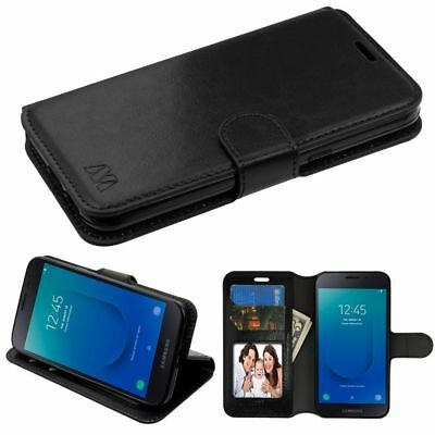 For Samsung Galaxy J2 (2019)/J2 Core (J260) MyJacket Leather Wallet Case Cover