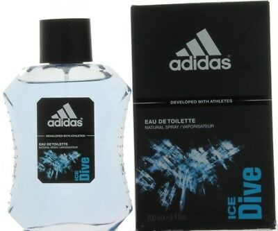 2c4ab0ff58f9 Ice Dive by Adidas for Men EDT Cologne Spray 3.4 oz.-Damaged Box