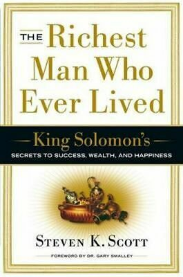 NEW Richest Man Who Ever Lived By Steven K. Scott Hardcover Free Shipping