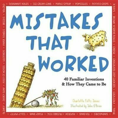 NEW Mistakes That Worked By Charlotte Jones Paperback Free Shipping