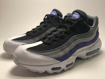 official photos 50083 2e3c2 Nike Air Max 95 Essential White-Persian Violet-Cool Grey Sz 11  749766