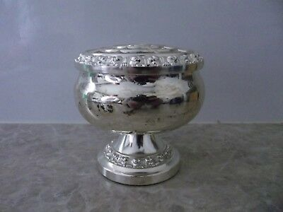Queen Anne  Rose Bowl  Silver Plated From the 80's