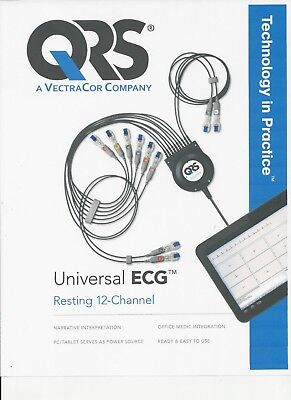 QRS Universal PC-Based EKG by Vectracor, New w/ Three-Year Warranty! Made in USA