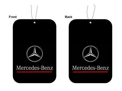 Mercedes-Benz AMG Car Logo Air Freshener Double Sided 2 for £5