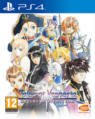 Tales Of Vesperia Definitive Edition PS4 Playstation 4 NAMCO