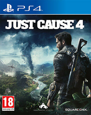 Just Cause 4 PS4 Playstation 4 SQUARE ENIX