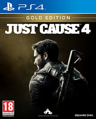 Just Cause 4 Gold Edition PS4 Playstation 4 SQUARE ENIX