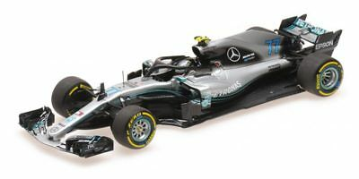 Mercedes Amg W09 Valtteri Bottas 2018 1:43 Model MINICHAMPS