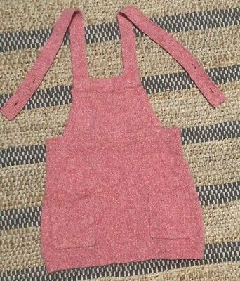 Country Road knit pinafore. 18-24m