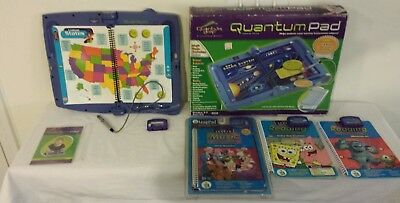 Leap Frog Quantum LeapPad...Four Books and Cartridges..