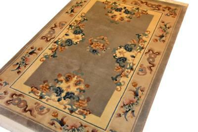 Peking China 125x185 handgeknüpft Orient Teppich Rug Carpet