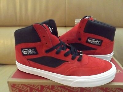 1daa003991 Vans Caballero Full Cab Men s Size 10 (Suede Leather) Racing Red VN0A3JIDPZO