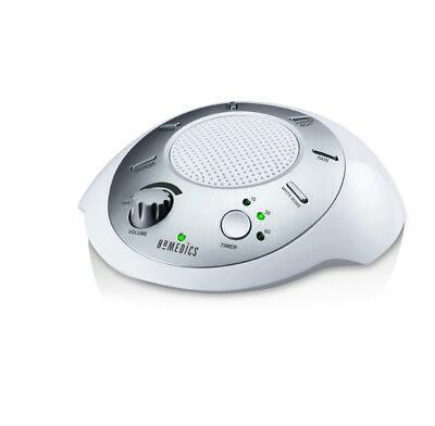 Homedics Ss 2000f Sound Spa Relaxation Machine with 6 Nature Sounds Silver